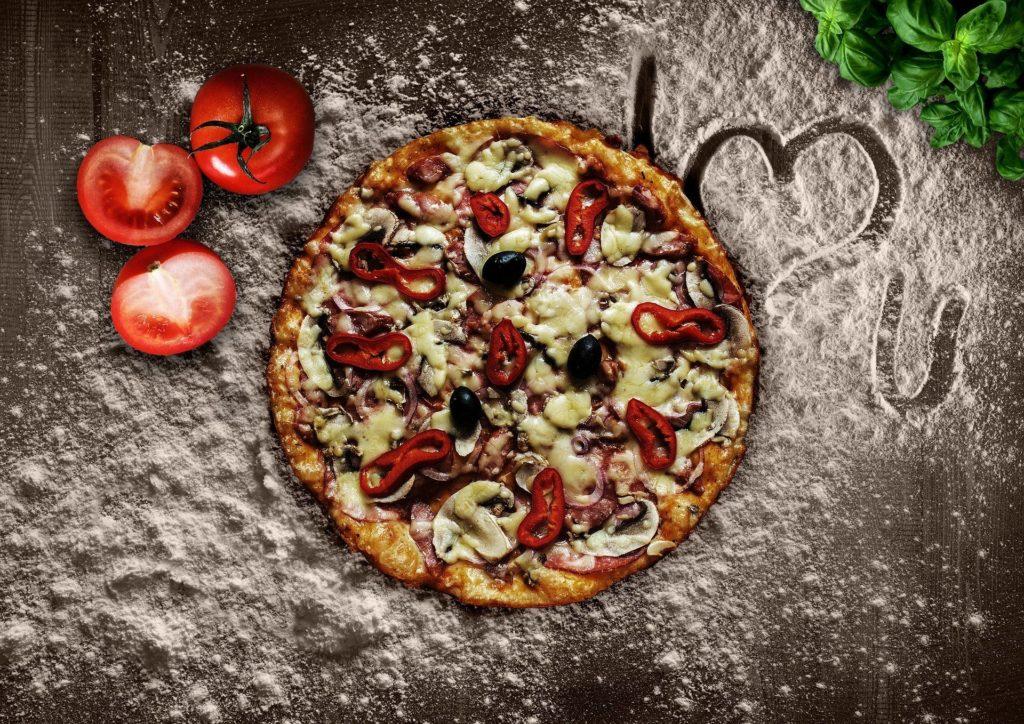 Pizza Pâte Chou-Fleur